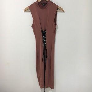 F21 corset detail dress
